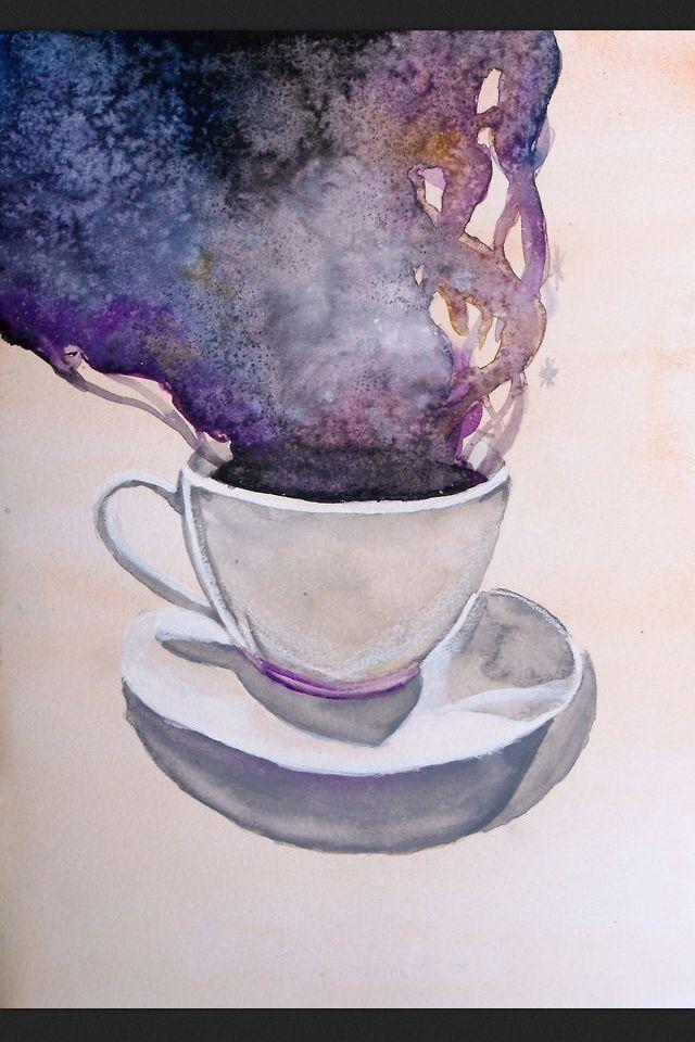 Artist Drink Galaxy Ludmila Vilarinhos