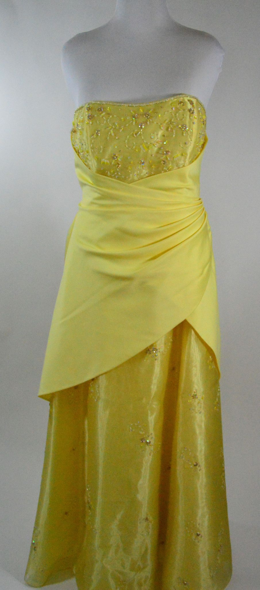 David's Bridal - Yellow - Size 20