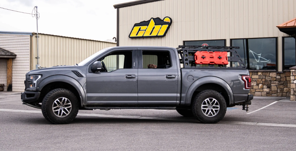 """Ford F150 Cab Height Bed Rack (5'6"""" bed length) 2004"""