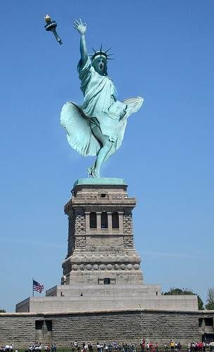 what if lady liberty isn t a lady at all articles on the odyssey rh pinterest es