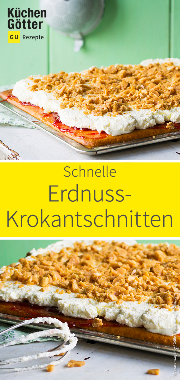 Erdnuss Krokantschnitten Rezept Rezepte Beste Kuchen Und Lebensmittel Essen