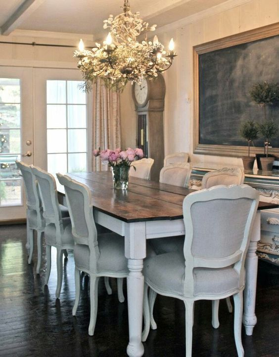 IDEAS DE COMO DECORAR TU COMEDOR ESTILO FRENCH COUNTRY Hola Chicas ...
