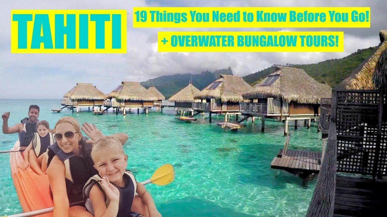 Overwater Bungalow Tour 19 Travel Tips To Tahiti Bora Bora