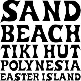 Polynesian Font  Google Search  Melissa  Pinterest  Fonts. Food Signs. Gardner Webb Logo. Worst Case Signs. Whatsapp Decals. Cinnamon Logo. Spring Fling Banners. Month Year Lettering. Cat Heart Decals