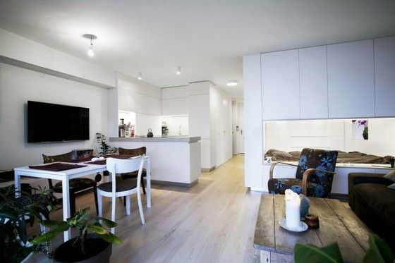 Dise o de interiores de apartamento peque o apartamento - Diseno de apartamentos pequenos ...