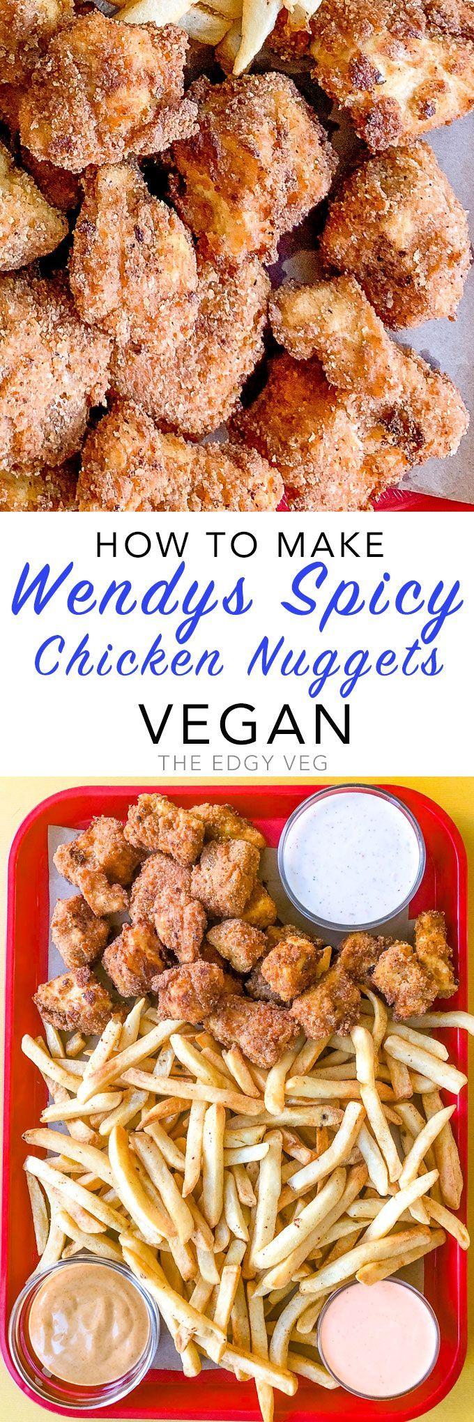 Wendy's Spicy Chicken Nuggets — Vegan