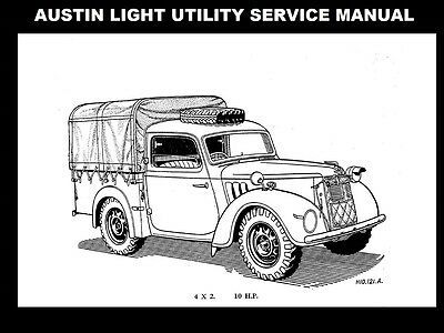 (Advertisement eBay) AUSTIN LIGHT UTILITY 4X2 WORKSHOP