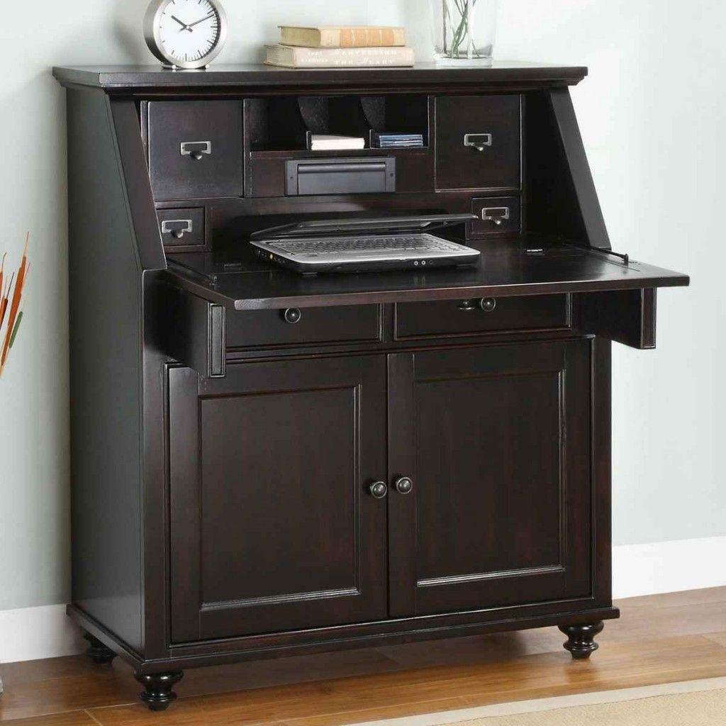 computer secretary desk furniture for new house file cabinet rh pinterest com