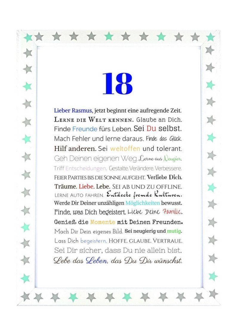 Geschenk 18 geburtstag dawanda