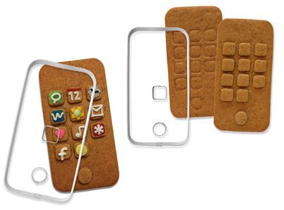Iphone-pepparkaksform