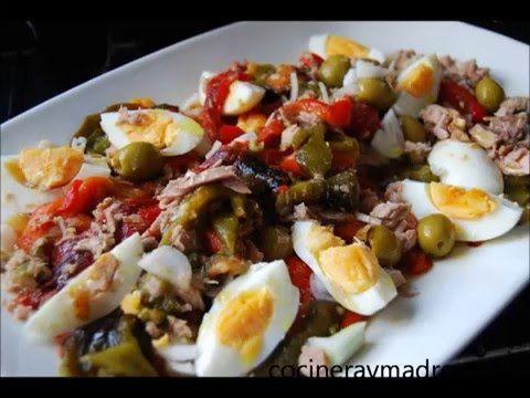Ensalada de pimientos asados | Cocina
