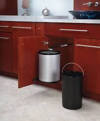 under sink trash can pull out trash can trash can cabinet double rh pinterest com