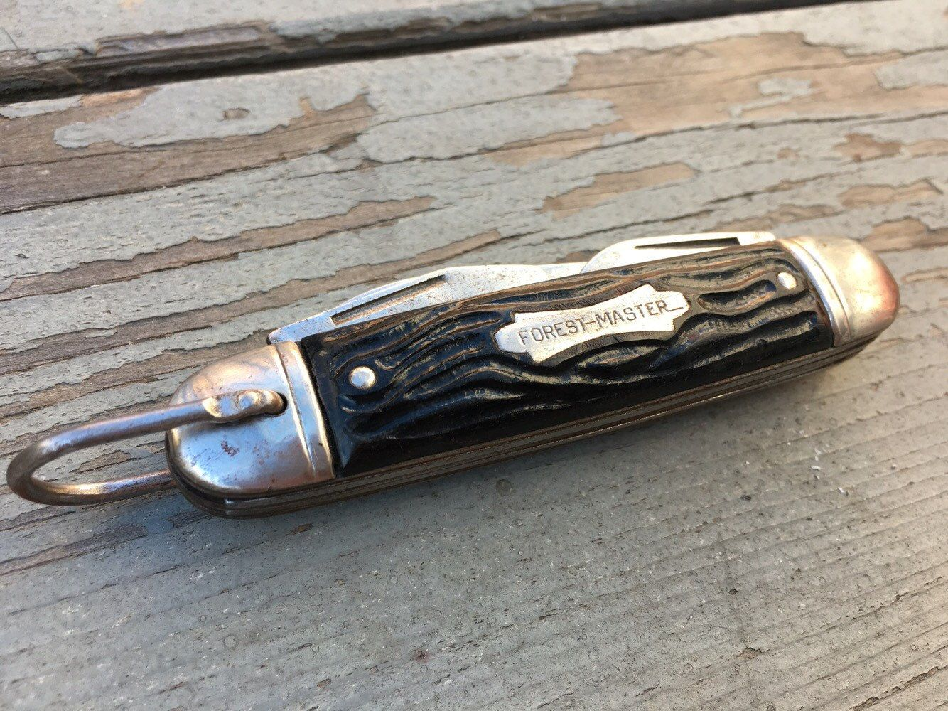 56be6aeefbb60c Vintage Forest Master Special 4 Blade Pocket knife- Colonial Campers Scout  Knife by UrbaneGoods on Etsy