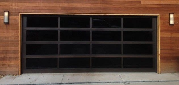 full view garage doorall glass residential garage door  Full View  All Glass Garage
