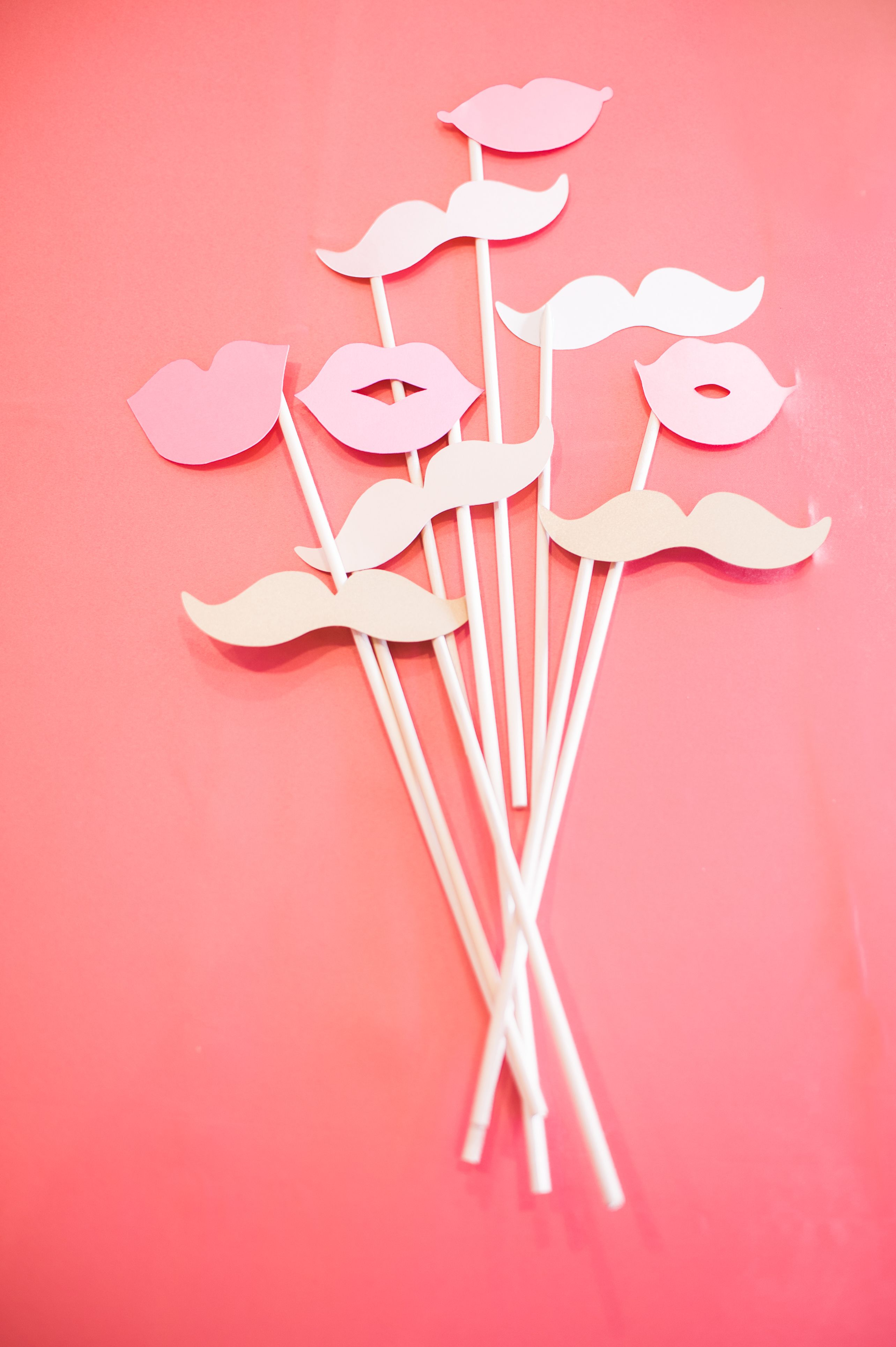 Photo Booth props for bridal shower or