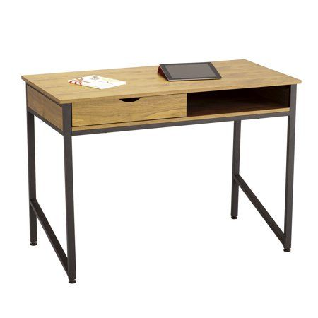 single drawer office desk black in 2019 products schreibtisch rh pinterest at