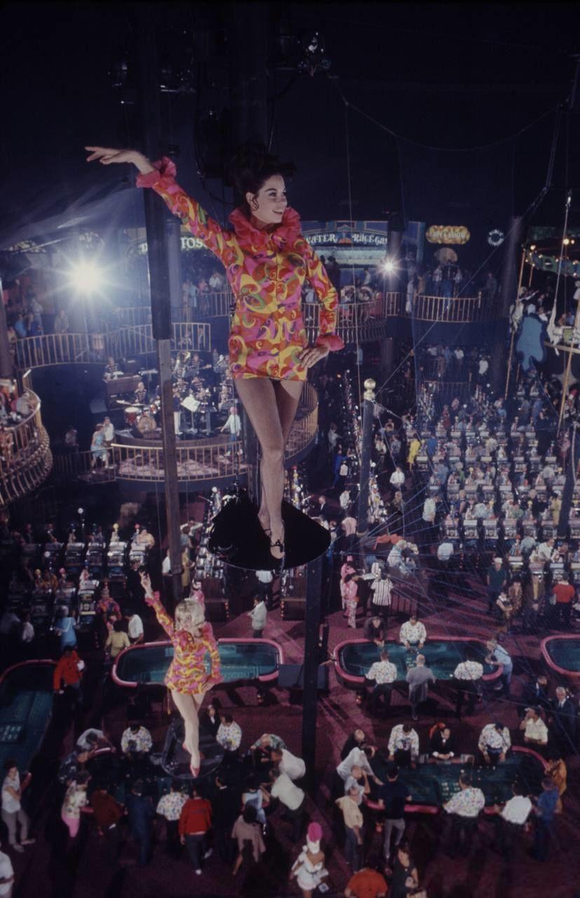 opening night at circus circus las vegas oct 18 1968 rh pinterest com