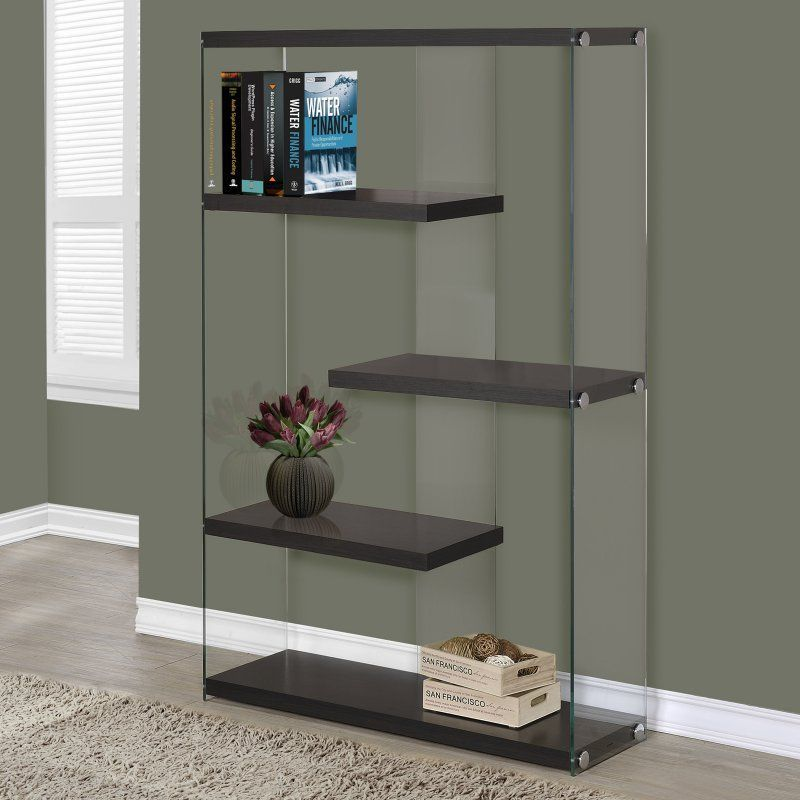 monarch 60 in bookcase with tempered glass products glass rh pinterest ca