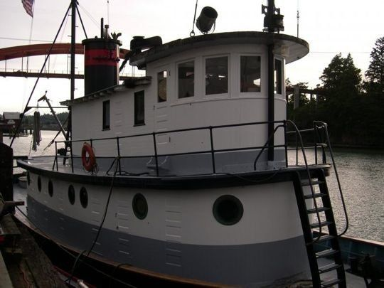 Liveaboard Retired Tugboat for Sale | Tugboats! | Tug boats