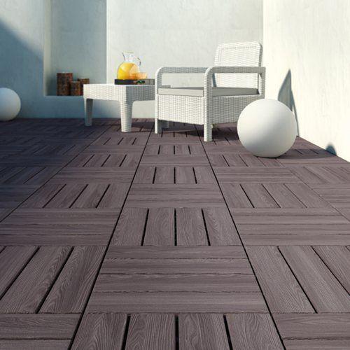estrado de resina 40x40cm leroy merlin home sweet home en 2019 outdoor flooring home