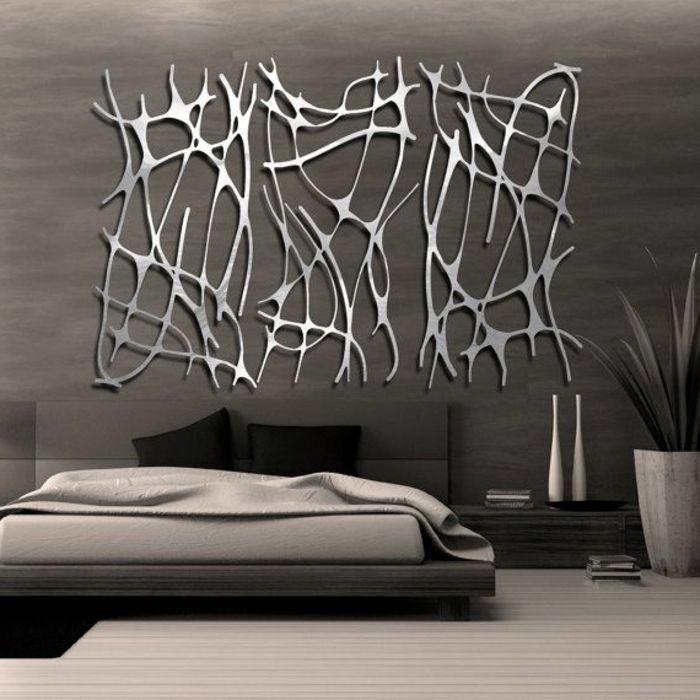 La dcoration murale en mtal touches