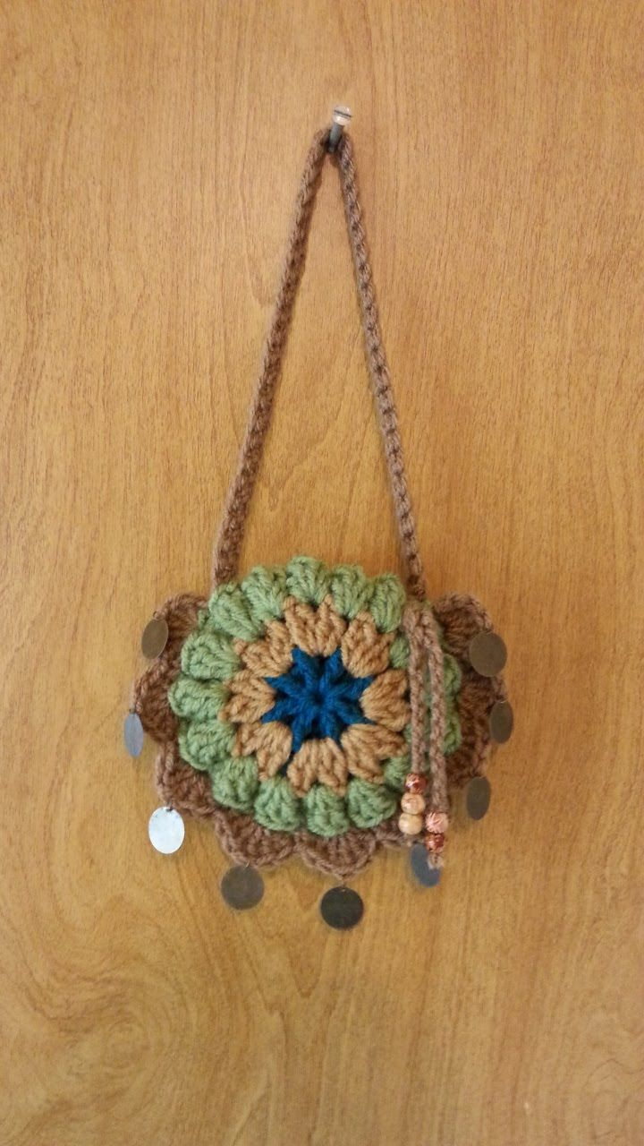 Free Crochet Pattern For Small Tote Bag : #Crochet small Handbag Purse #TUTORIAL DIY CROCHET BAGS ...