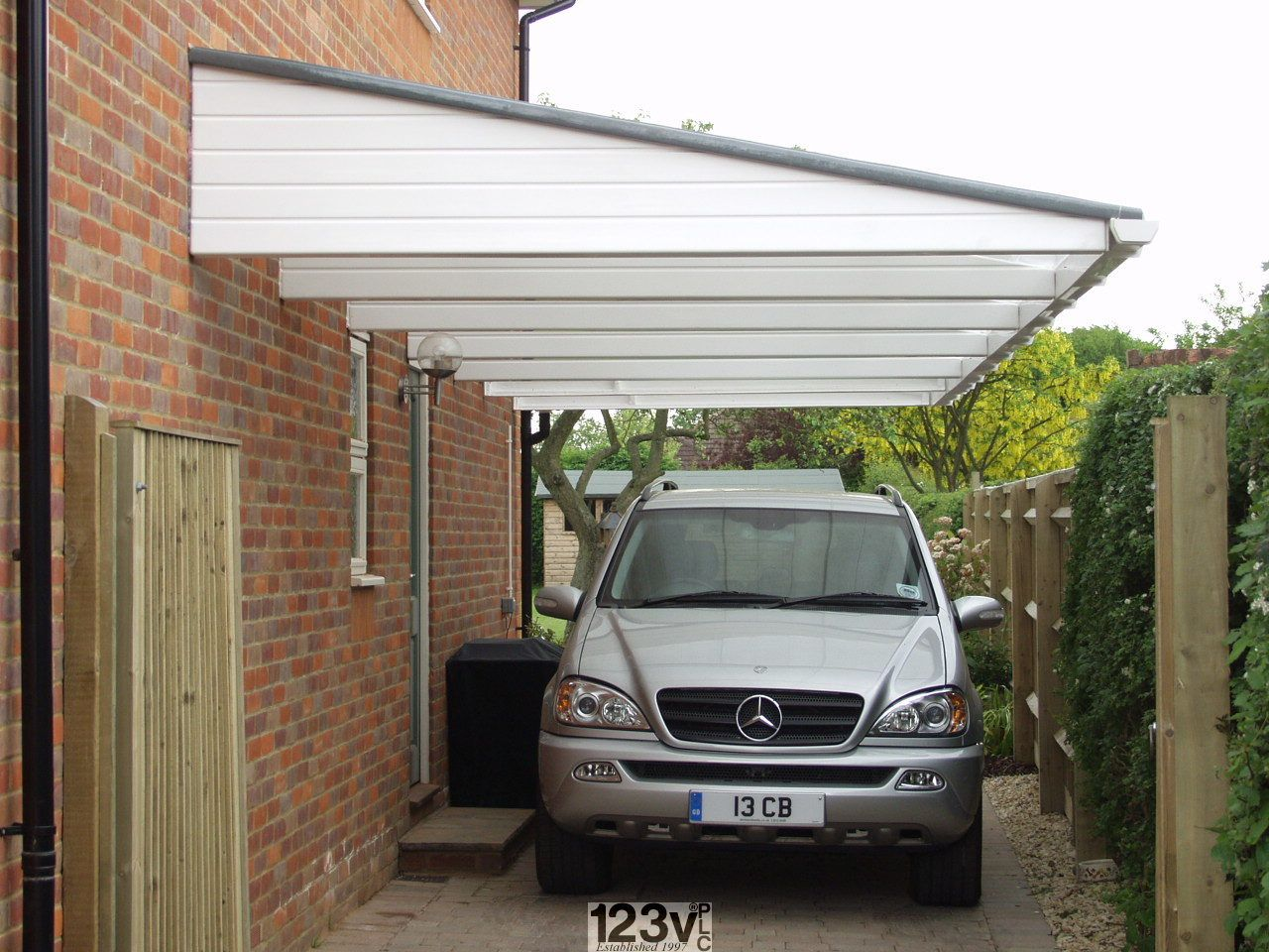 Fitted Carport Canopy from UK Manufacturer Carport