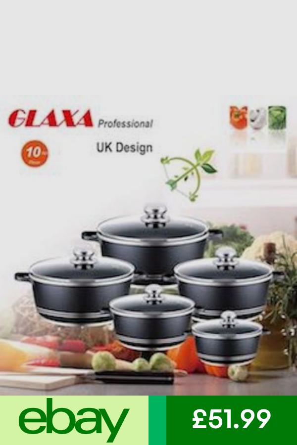 Pan Sets Home Furniture Diy Ebay Cookware Set Pan Sets 10