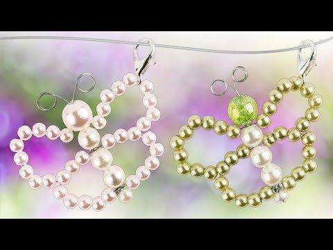 Photo of Make Pearl Butterflies – DIY Jewelry Pendants – Butterfly bead tutorial | Ideas with a heart