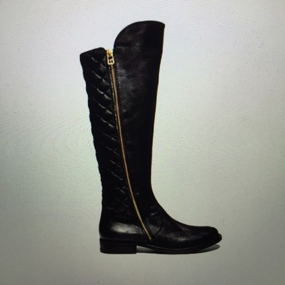 "Steve Madden ""Northside"" boots Knee-high boots with its leather front and textured back. Steve Madden Shoes Winter & Rain Boots"
