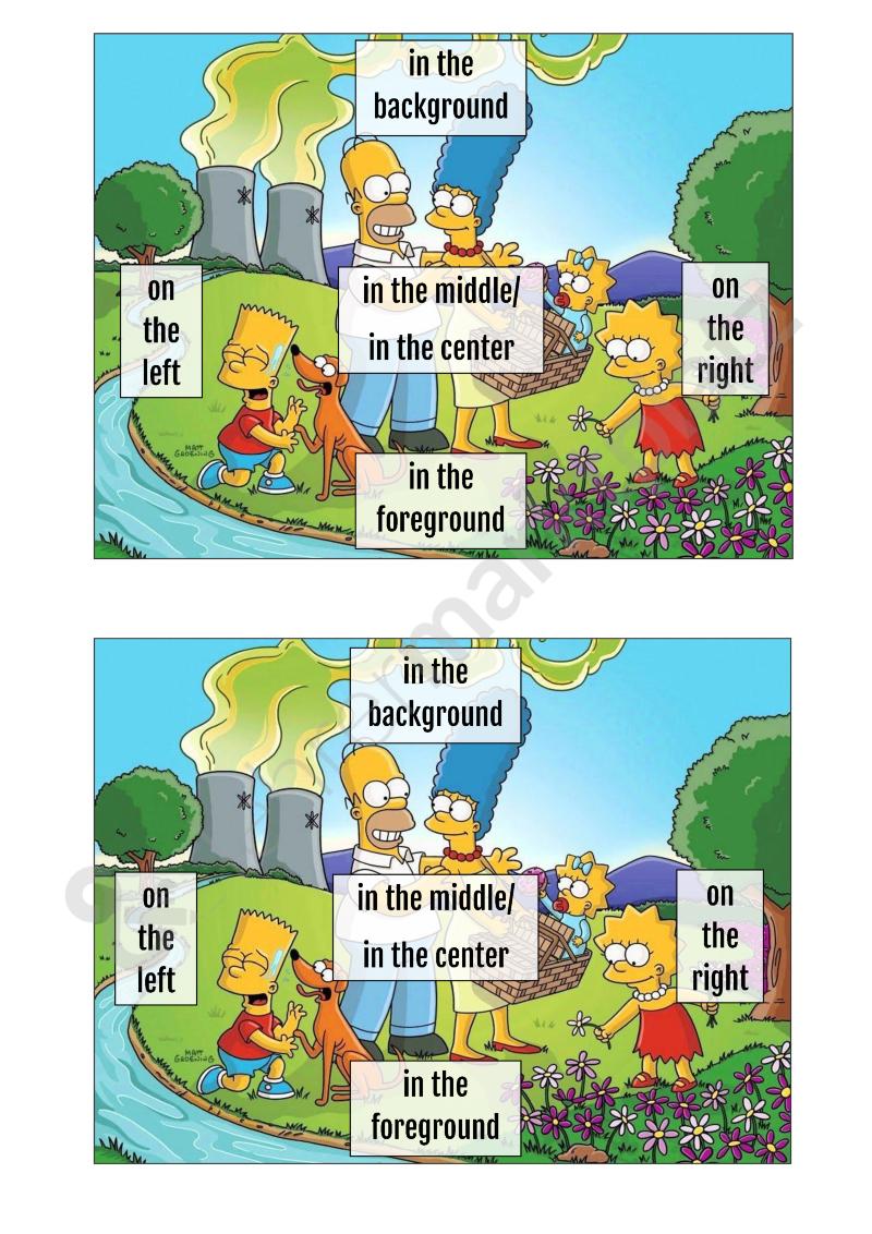 scaffolding zur bildbeschreibung englisch - Bildbeschreibung Englisch Beispiel