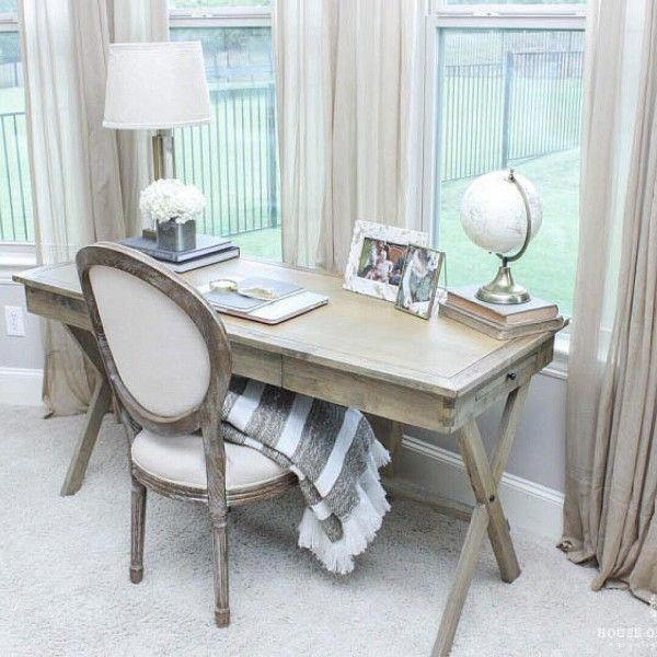 100 Charming Farmhouse Decor Ideas for Your Home Office - #farmhouse - Home Office Decor Ideas