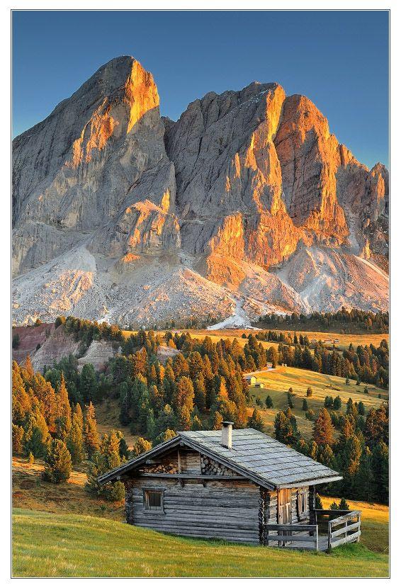 DOLOMITI by Tomas Morkes, via 500px Scenery, Cabins in