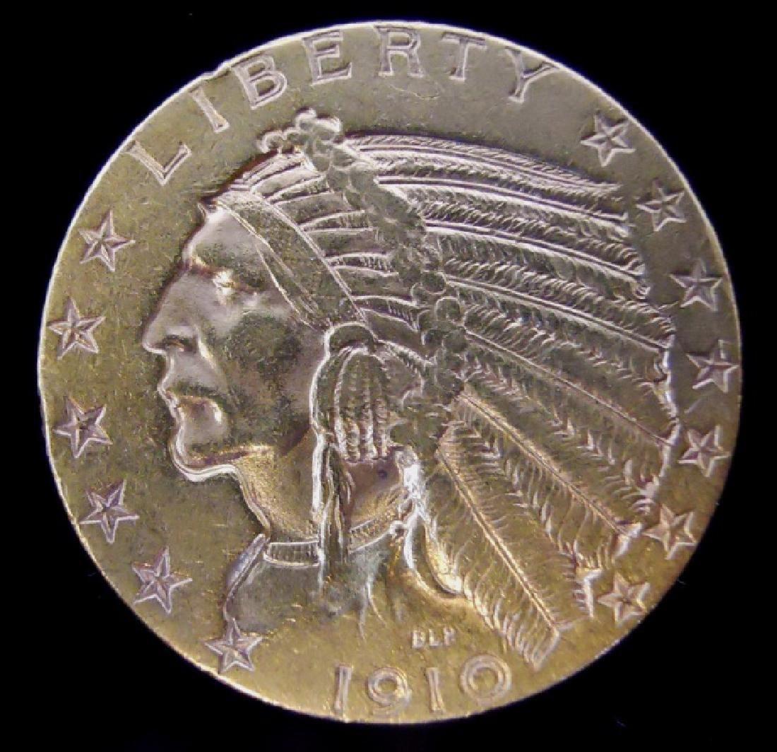 Dollar Indian Gold Coin