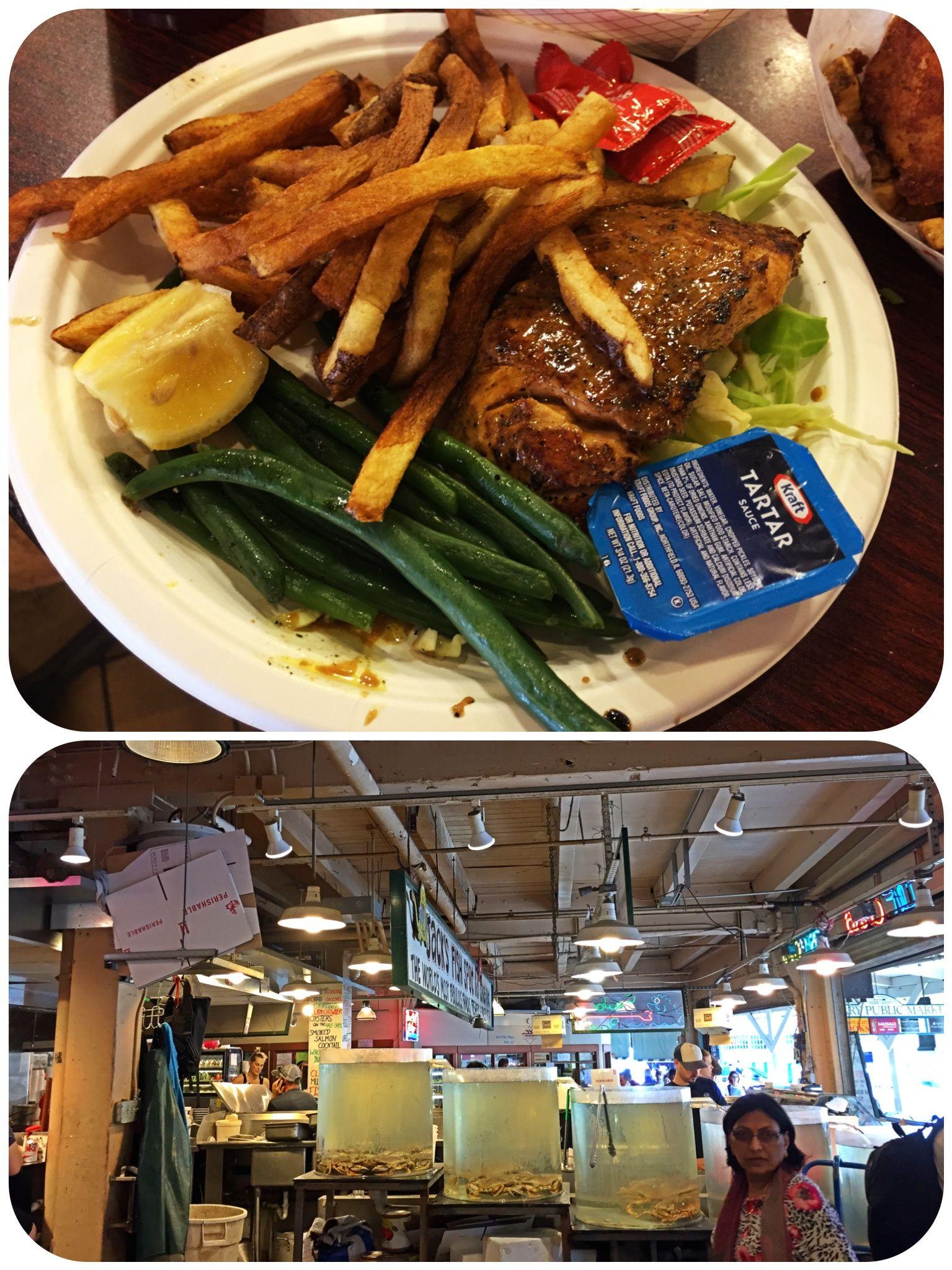 Jacku0027s Fish Spot in Pike Place Market