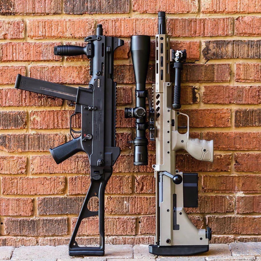HK UMP and Desert Tech SRS A2(이미지 포함)