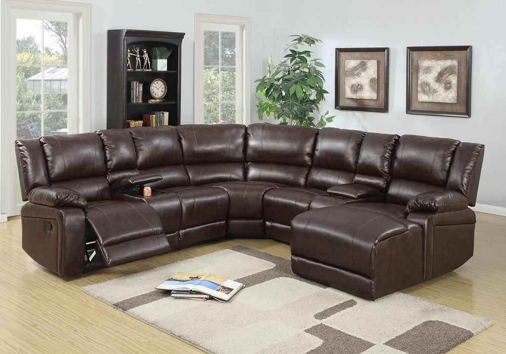 motion recliner sectional sofa corner couch console chaise brown rh pinterest co kr