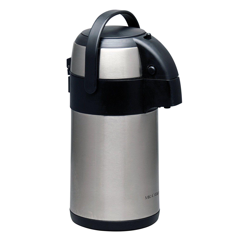 Gibson Home 79517.01 Everflow Coffee Pump Pot, 2.32 quart