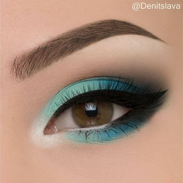 Photo of Simple natural eye makeup tutorial step by step every day colorful …