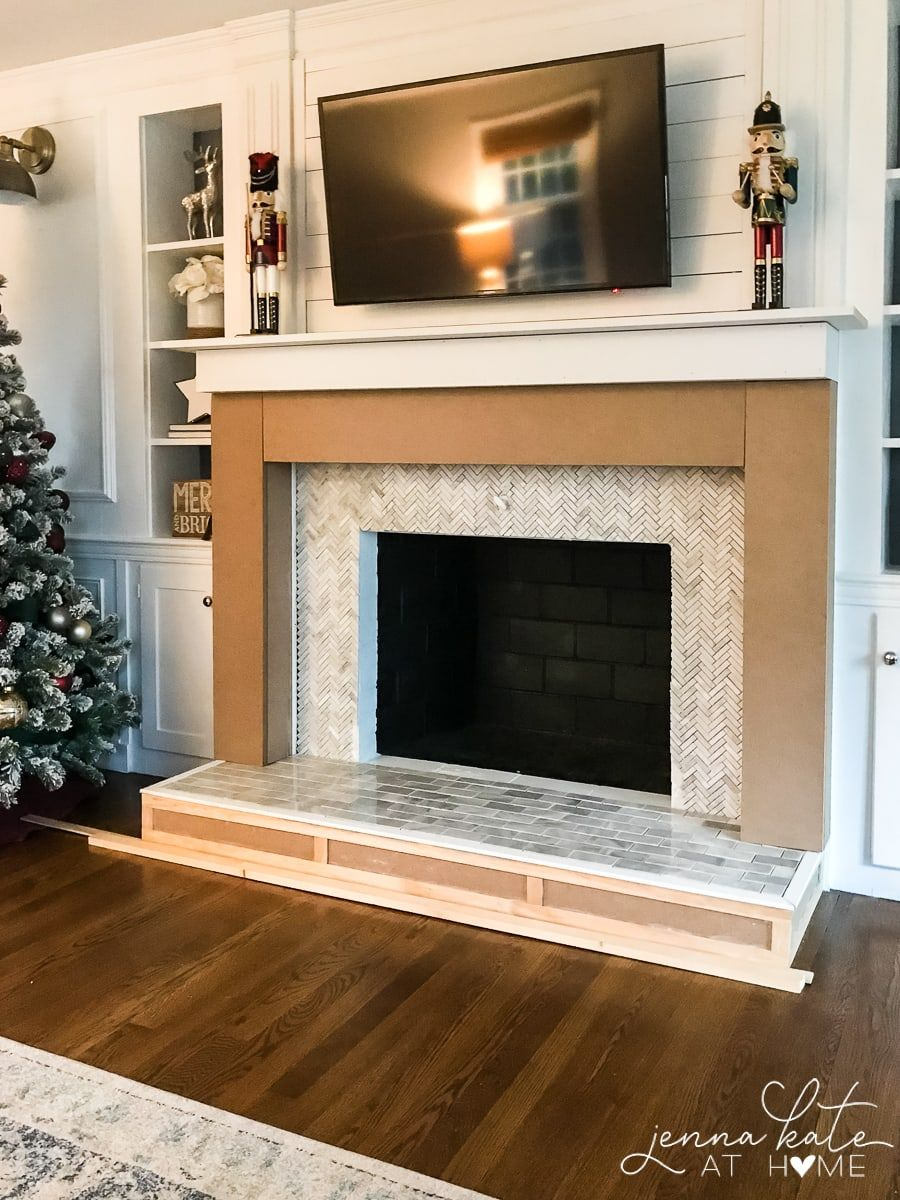 how to build a fireplace surround fireplace pinterest rh pinterest es