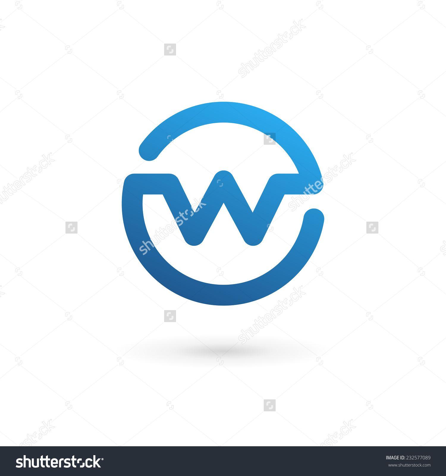 Letter W logo icon design template elements   Logos/Icons/Symbols ...