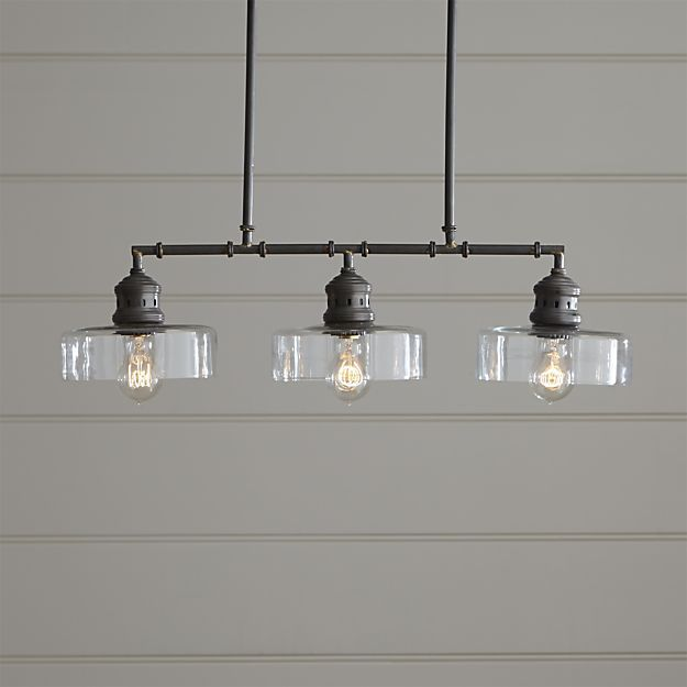Atwell pendant light in pendant lighting crate and barrel