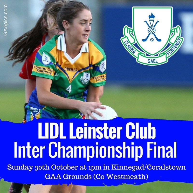 CLANNA GAEL FONTENOY GO IN SEARCH OF LEINSTER GLORY | We Are Dublin GAA