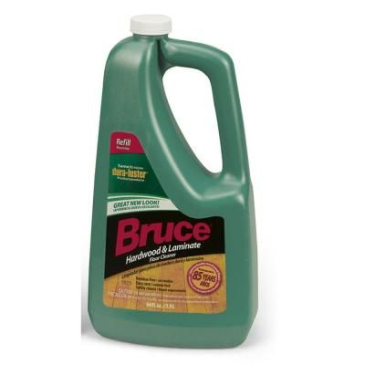 Bruce 64 Fl Oz Hardwood And Laminate Floor Cleaner Refill Ws109rt The Home Depot Floor Cleaner Wood Floor Cleaner Hardwood Floor Cleaner