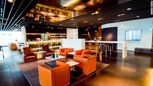Travelers get personal attention at lufthansa first class for Interior design frankfurt