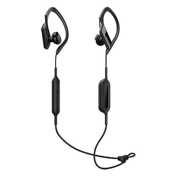 c6fef641c52 Bluetooth Sports Headset with Microphone Panasonic RP-BTS10E-K Waterproof  Black