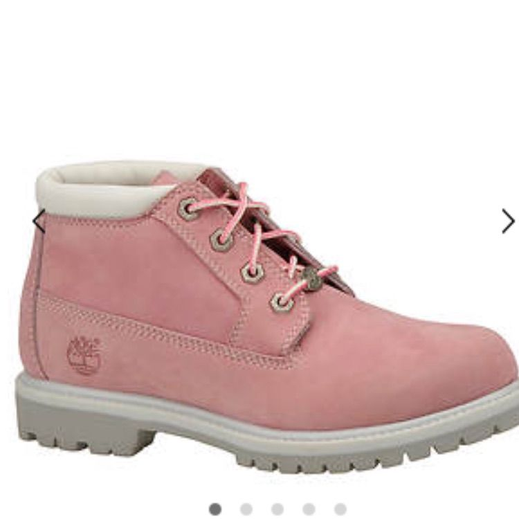 Size 5 Ladies Pink Timberland Walking Boots For Sale in New