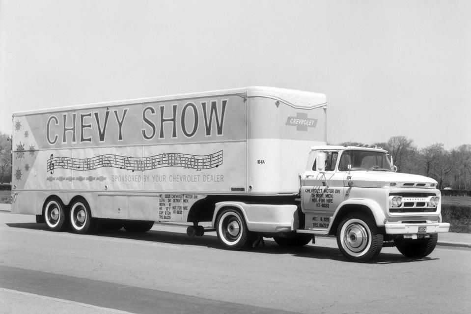 Vintage Chevrolet Chevy Show Promotion On Gm Parts Tractor