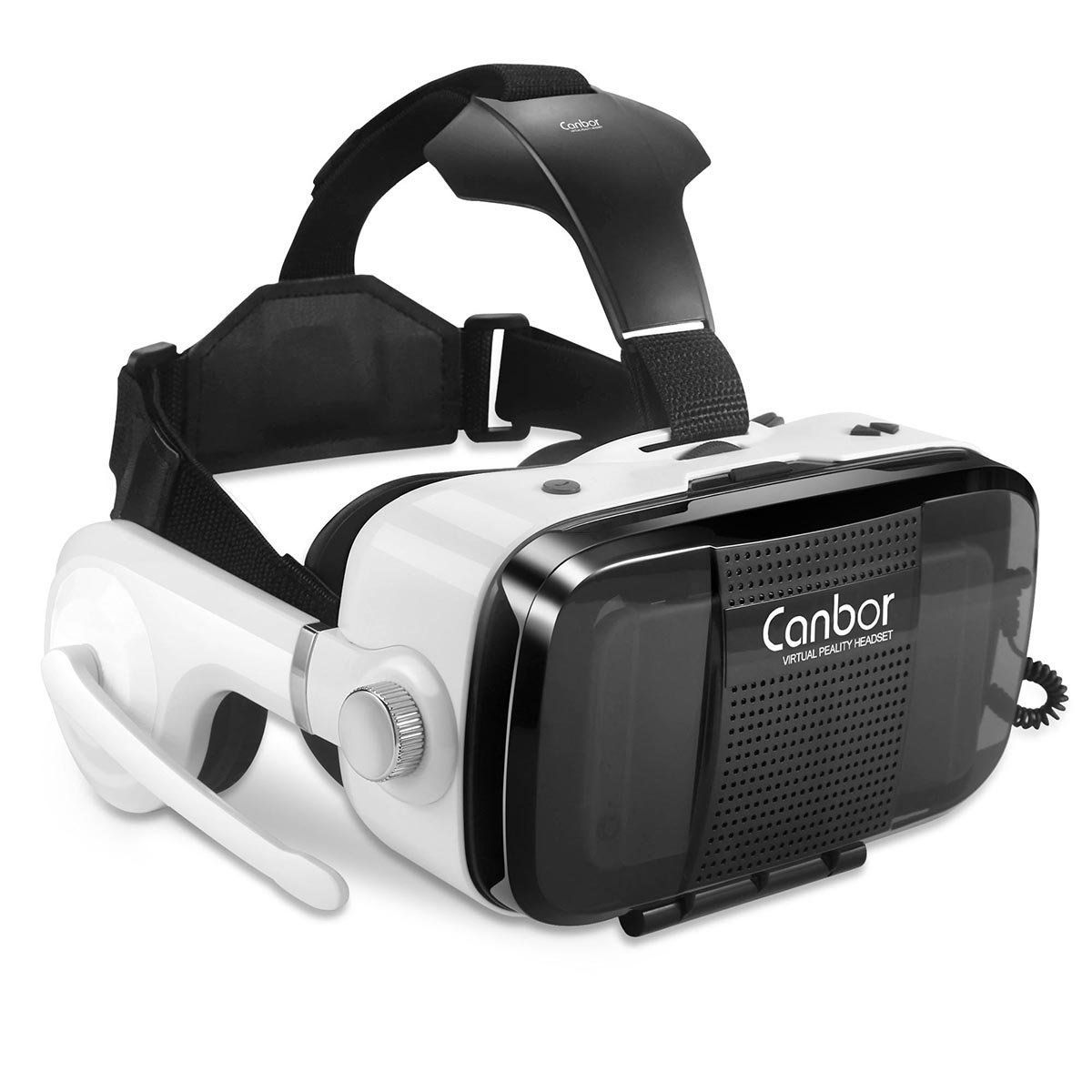 Canbor Virtual Reality Headset VR Headset VR Goggles Builtin