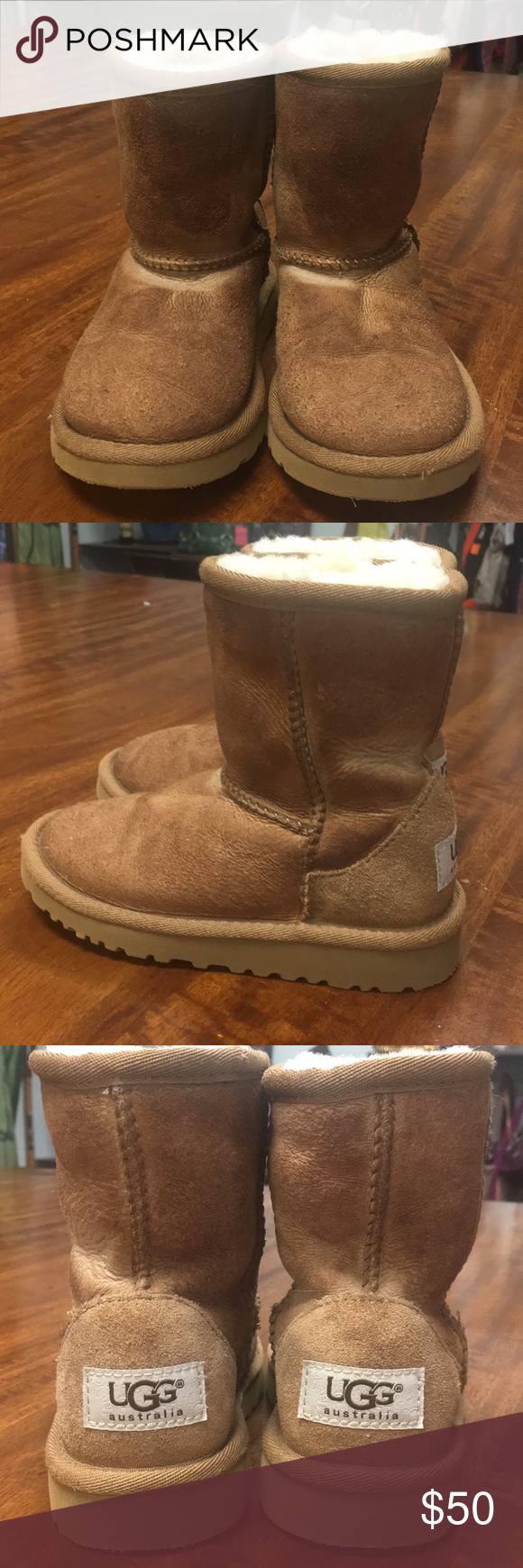 Ugg Toddlers' Classic Ii Boot In Chestnut, Size 6, Shearling